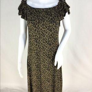 Cynthia Rowley Leopard Print Dress